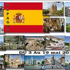 Espagne, 3 au 15 mai 2014