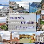 Italie, 11 au 26 mai 2013