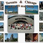 Toronto, Chicago, 23 au 29 mai 2010