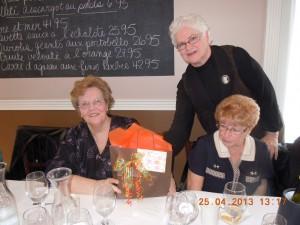 2013-04-24 bénévoles RéjeanneLemieuxTétreault IrèneLeblanc